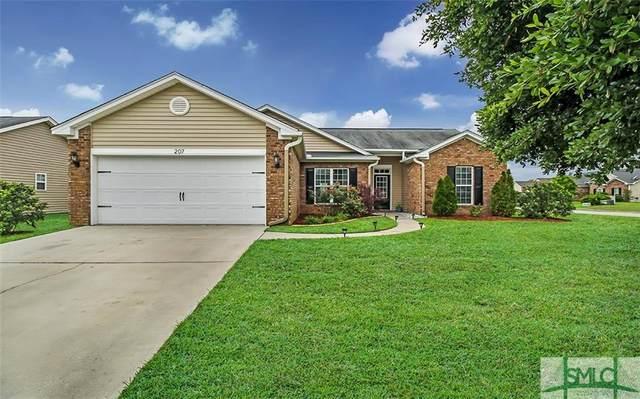 207 Willow Point Lane, Pooler, GA 31322 (MLS #222513) :: Heather Murphy Real Estate Group