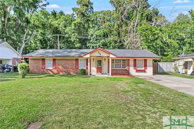 206 San Anton Drive, Savannah, GA 31419 (MLS #223739) :: The Arlow Real Estate Group