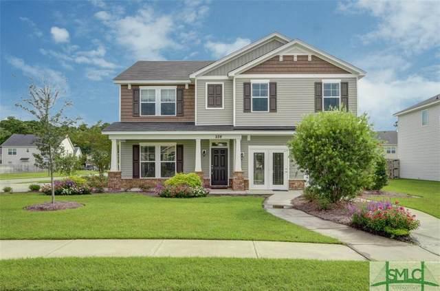 226 Harmony Boulevard, Pooler, GA 31322 (MLS #224043) :: Heather Murphy Real Estate Group