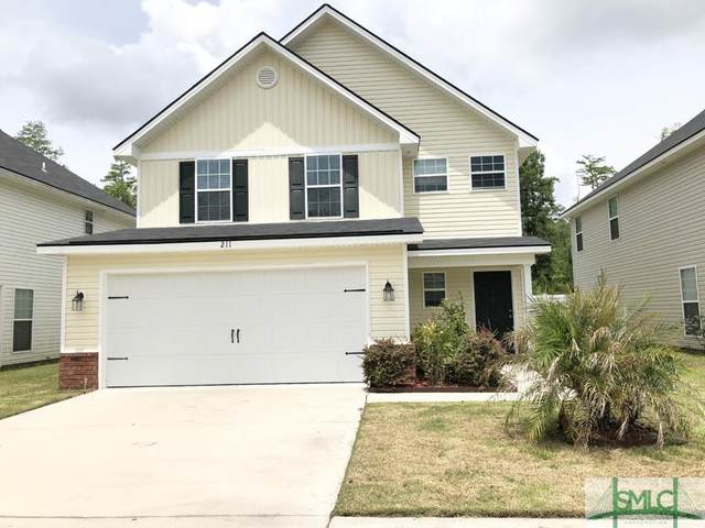 211 Grandview Drive, Hinesville, GA 31313 (MLS #224605) :: The Arlow Real Estate Group