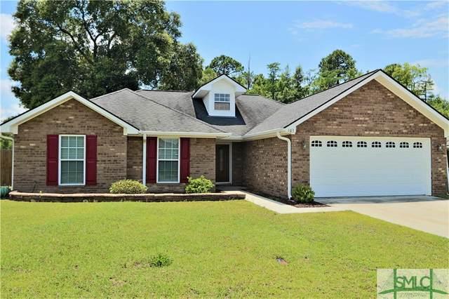 103 Grandview Drive, Hinesville, GA 31313 (MLS #224672) :: Coastal Savannah Homes