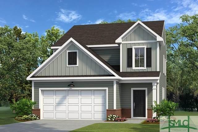 218 Parkside Boulevard, Port Wentworth, GA 31407 (MLS #224858) :: Bocook Realty