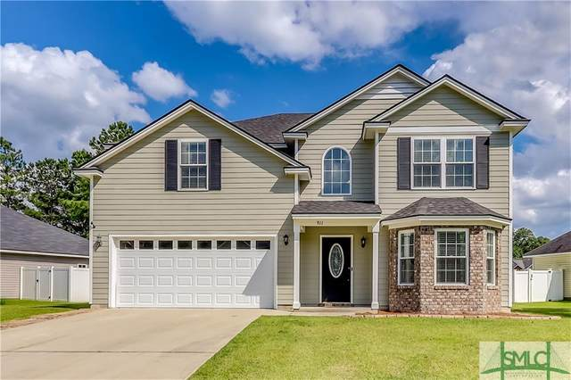 911 Rachel Lane, Hinesville, GA 31313 (MLS #226333) :: The Arlow Real Estate Group