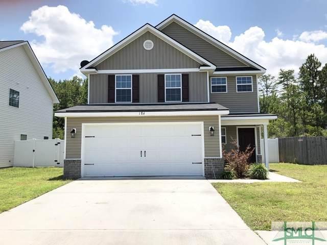 186 Grandview Drive, Hinesville, GA 31313 (MLS #226807) :: Teresa Cowart Team
