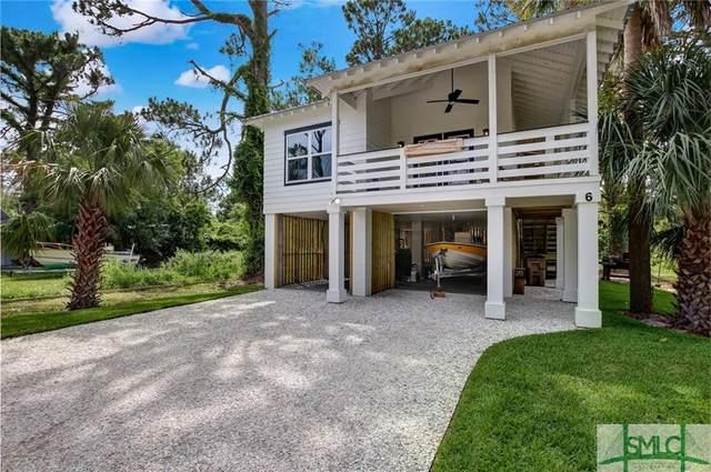 6 Alger Avenue, Tybee Island, GA 31328 (MLS #227140) :: Bocook Realty