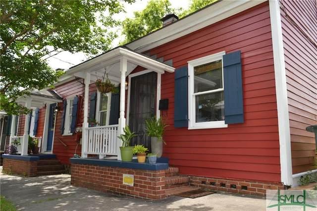 527 E Gordon Street E, Savannah, GA 31401 (MLS #227162) :: Keller Williams Coastal Area Partners