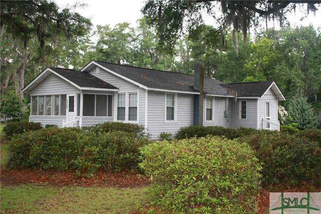 4924 Pineland Drive, Savannah, GA 31405 (MLS #228343) :: Keller Williams Realty-CAP