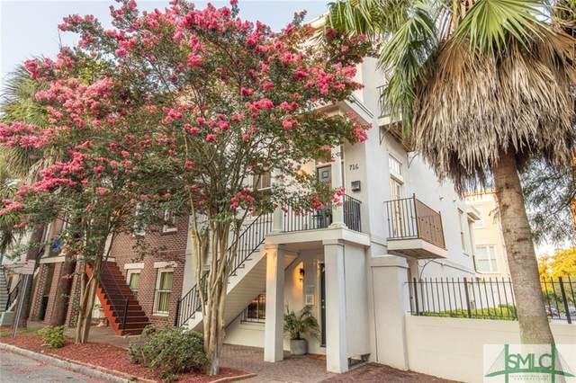 716 Barnard Street, Savannah, GA 31401 (MLS #228420) :: The Arlow Real Estate Group