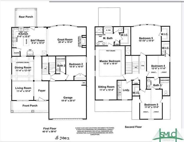 172 Laguna Way, Savannah, GA 31405 (MLS #228829) :: The Arlow Real Estate Group