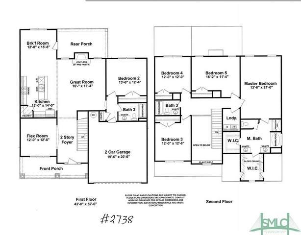 169 Laguna Way, Savannah, GA 31405 (MLS #228834) :: The Arlow Real Estate Group