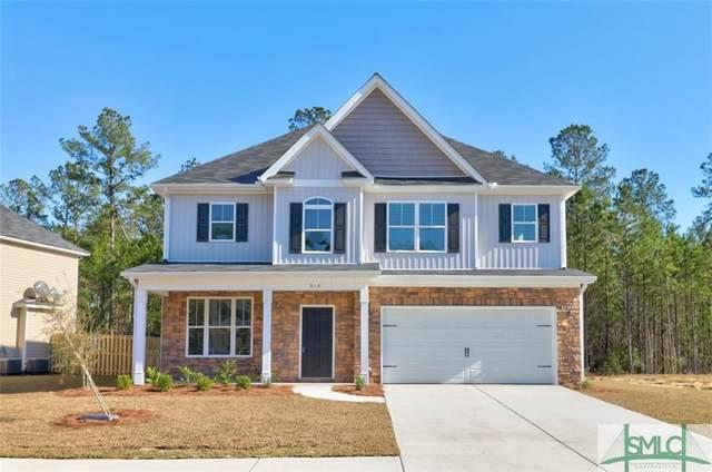 166 Laguna Way, Savannah, GA 31405 (MLS #228835) :: The Arlow Real Estate Group