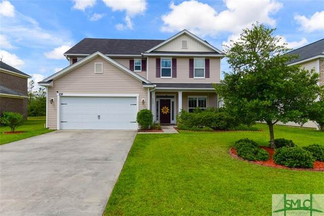 235 Harmony Boulevard, Pooler, GA 31322 (MLS #229164) :: Level Ten Real Estate Group
