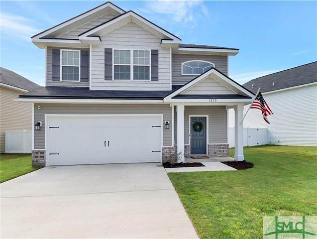 1213 Cypress Fall Circle, Hinesville, GA 31313 (MLS #230935) :: Glenn Jones Group   Coldwell Banker Access Realty