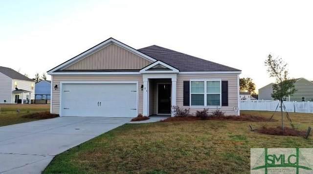 106 Tupelo Way, Guyton, GA 31312 (MLS #231125) :: Level Ten Real Estate Group