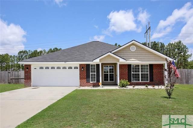 707 Auburn Cove, Hinesville, GA 31313 (MLS #231192) :: Barker Team   RE/MAX Savannah