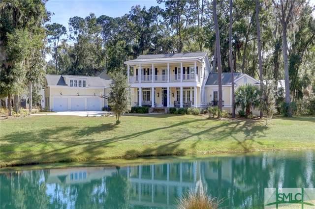 62 Waterway Drive, Savannah, GA 31411 (MLS #231265) :: Keller Williams Coastal Area Partners