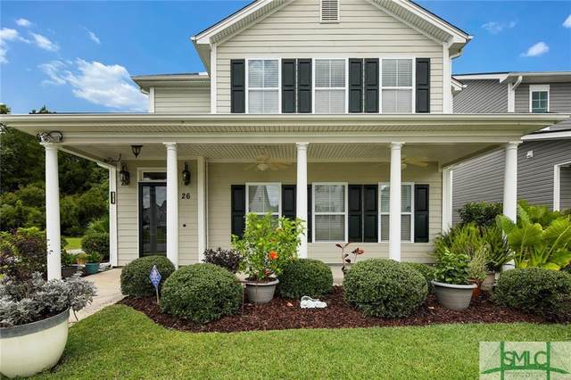 26 Crabapple Circle, Port Wentworth, GA 31407 (MLS #231891) :: The Sheila Doney Team