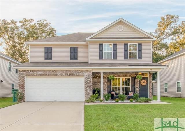 103 Spoonbill Circle, Savannah, GA 31405 (MLS #233444) :: Heather Murphy Real Estate Group