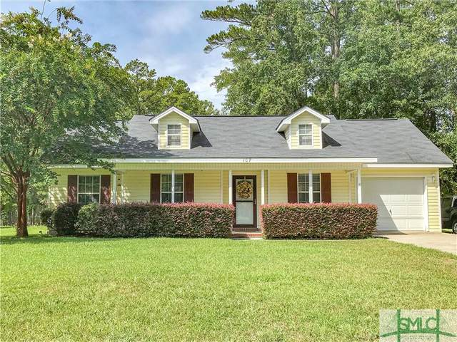 107 Woodbury Lane, Rincon, GA 31326 (MLS #233561) :: Keller Williams Coastal Area Partners
