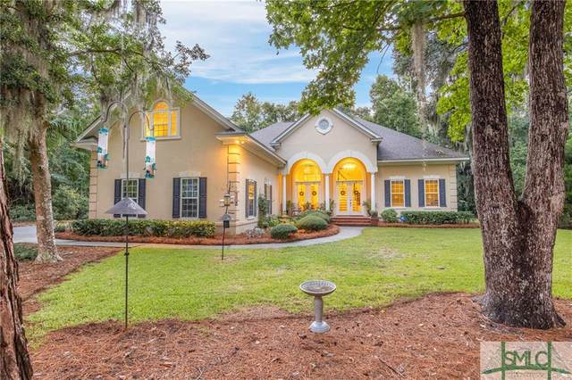 219 Wiley Bottom Road, Savannah, GA 31411 (MLS #233653) :: Level Ten Real Estate Group