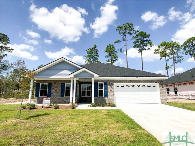 106 Thorp Circle, Hinesville, GA 31313 (MLS #233663) :: Glenn Jones Group | Coldwell Banker Access Realty