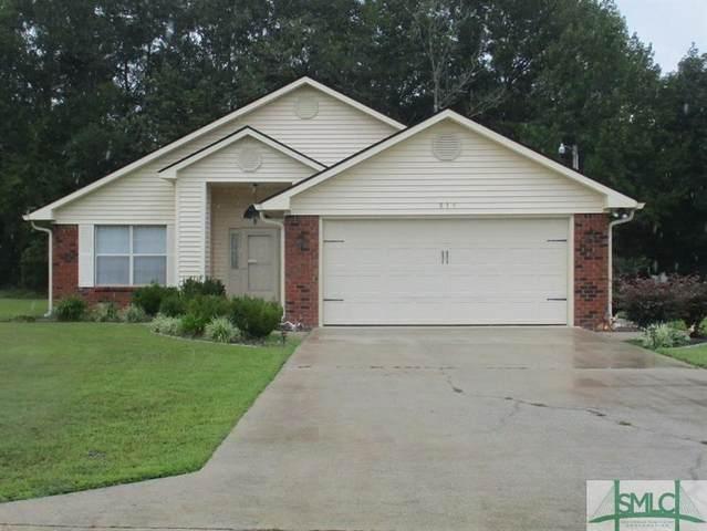 835 N Brickyard Road, Hinesville, GA 31313 (MLS #233891) :: The Arlow Real Estate Group