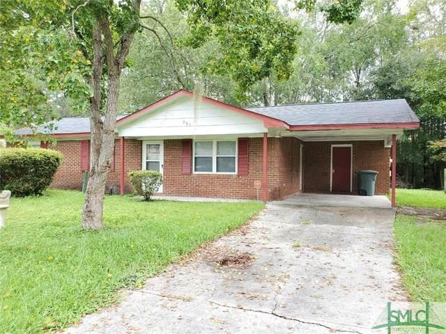 981 White Circle, Hinesville, GA 31313 (MLS #234118) :: Coastal Savannah Homes