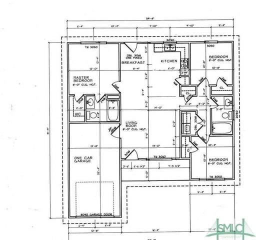 107 New Stillwell Road, Springfield, GA 31329 (MLS #234125) :: RE/MAX All American Realty