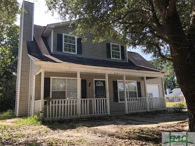 213 Finn Circle, Savannah, GA 31419 (MLS #234136) :: Bocook Realty