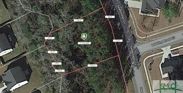 158 Sweetwater Circle, Rincon, GA 31326 (MLS #234167) :: Keller Williams Coastal Area Partners