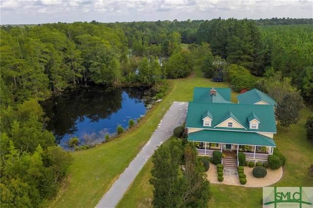 645 Rocker Road, Brooklet, GA 30415 (MLS #234372) :: The Arlow Real Estate Group