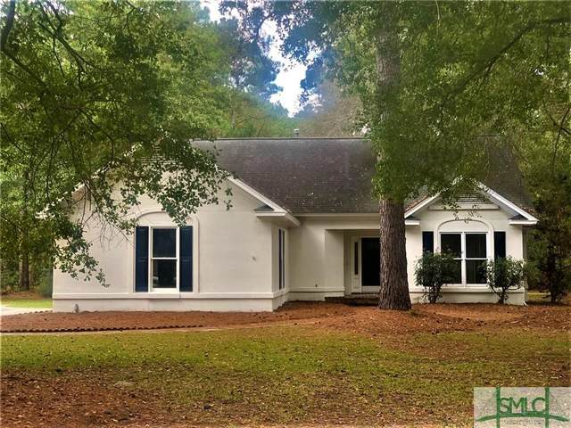 150 Palmetto Drive, Rincon, GA 31326 (MLS #235915) :: Level Ten Real Estate Group