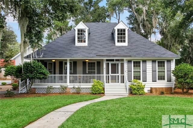 41 Ramsgate Road, Savannah, GA 31419 (MLS #236081) :: Level Ten Real Estate Group
