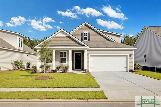 126 Old Wood Drive, Pooler, GA 31322 (MLS #236309) :: Coastal Savannah Homes