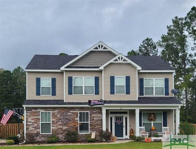 105 Summer Station Drive, Guyton, GA 31312 (MLS #236425) :: Keller Williams Coastal Area Partners