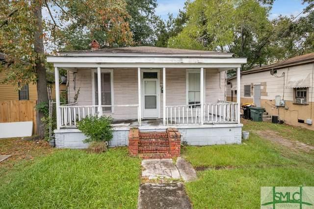 1707 Vine Street, Savannah, GA 31401 (MLS #236458) :: Barker Team | RE/MAX Savannah