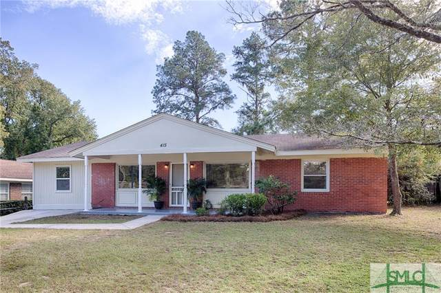 415 San Anton Drive, Savannah, GA 31419 (MLS #236587) :: Level Ten Real Estate Group