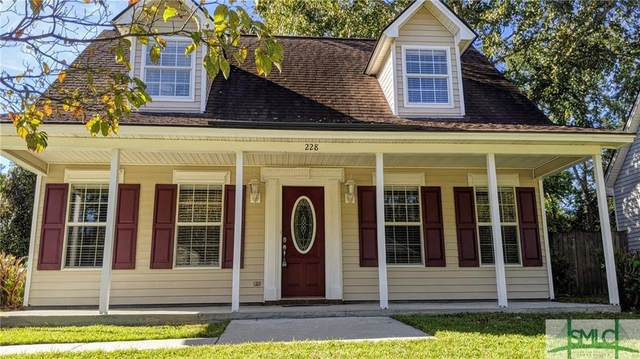 228 Bordeaux Lane, Savannah, GA 31419 (MLS #236590) :: Coastal Homes of Georgia, LLC