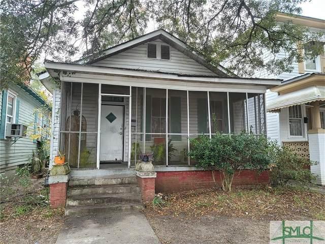912 W 38TH Street, Savannah, GA 31401 (MLS #236698) :: Barker Team | RE/MAX Savannah
