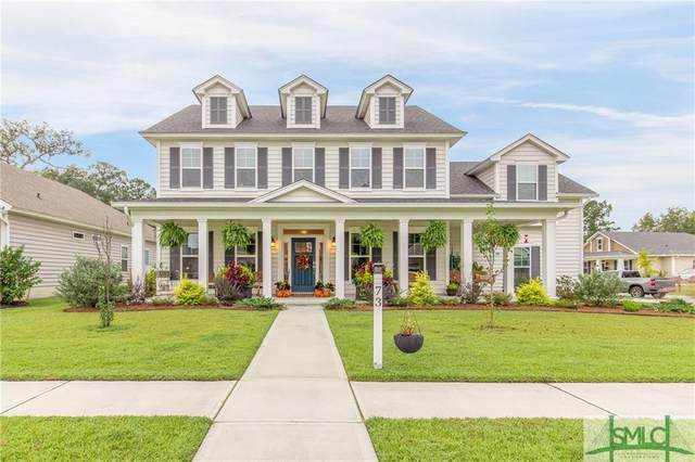 73 Harvest Moon Drive, Savannah, GA 31419 (MLS #236712) :: Coastal Homes of Georgia, LLC