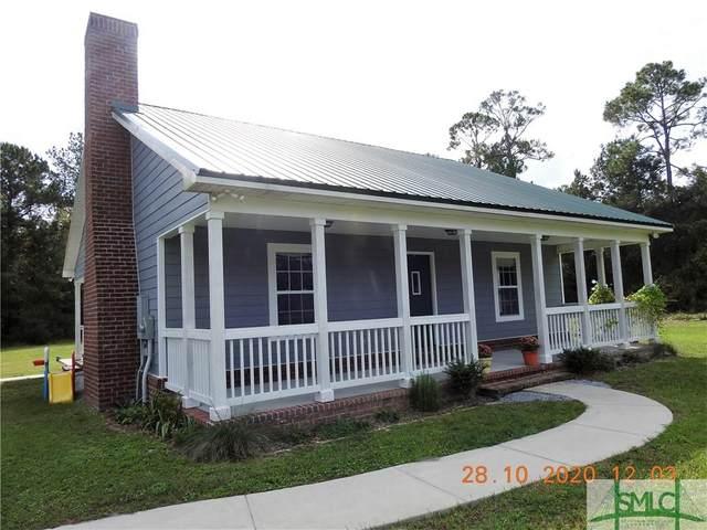 1672 Marcus Nobles Road NE, Glennville, GA 30427 (MLS #237768) :: Coastal Homes of Georgia, LLC