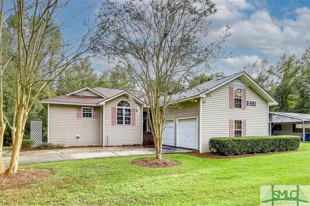 105 Pleasant Drive, Port Wentworth, GA 31407 (MLS #238423) :: The Arlow Real Estate Group