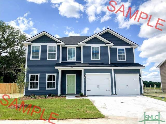 868 Fairview Circle, Hinesville, GA 31313 (MLS #238511) :: The Arlow Real Estate Group