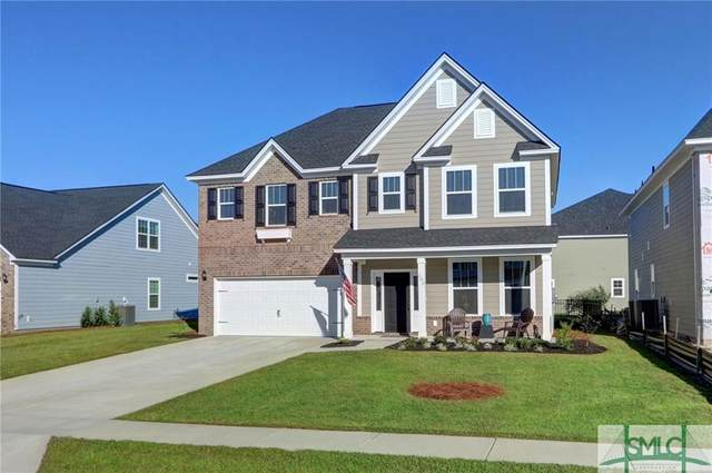 203 Mcqueen Drive, Pooler, GA 31322 (MLS #238600) :: RE/MAX All American Realty