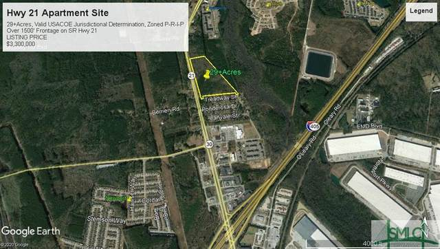 0 N Hwy 21 Highway, Port Wentworth, GA 31407 (MLS #238662) :: Partin Real Estate Team at Luxe Real Estate Services