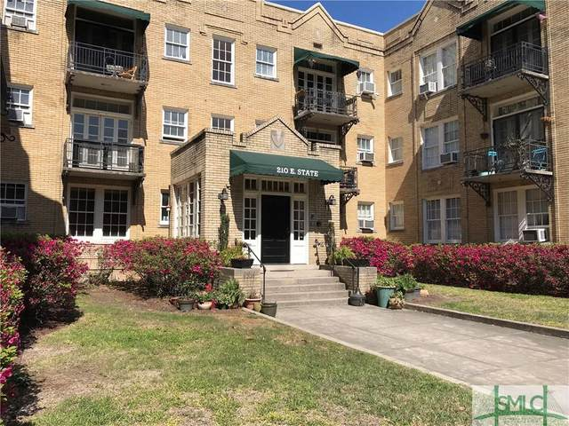 210 E State Street #16, Savannah, GA 31401 (MLS #239090) :: Team Kristin Brown | Keller Williams Coastal Area Partners