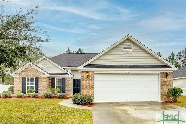 231 Pampas Drive, Pooler, GA 31322 (MLS #240011) :: Bocook Realty