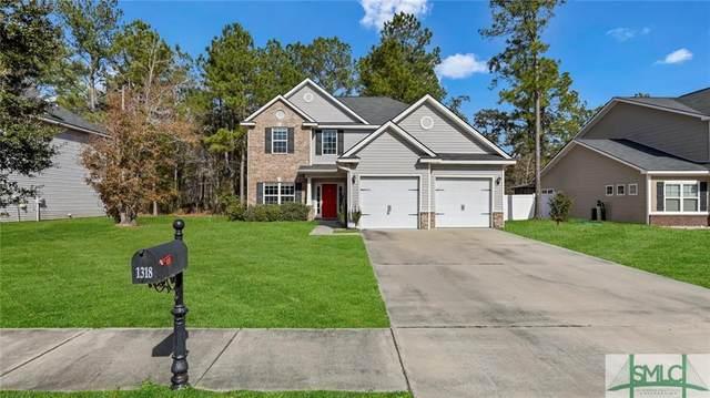 1318 Hill View Circle, Hinesville, GA 31313 (MLS #240042) :: Coastal Homes of Georgia, LLC