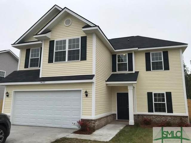 1427 Evergreen Trail, Hinesville, GA 31313 (MLS #240793) :: The Arlow Real Estate Group