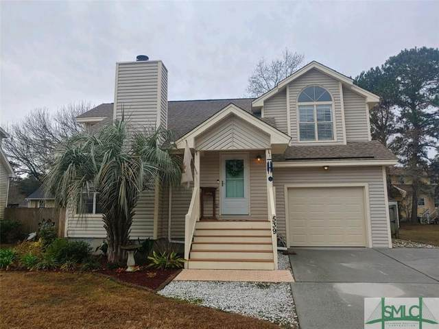 539 Pointe North Drive, Savannah, GA 31410 (MLS #240923) :: Heather Murphy Real Estate Group